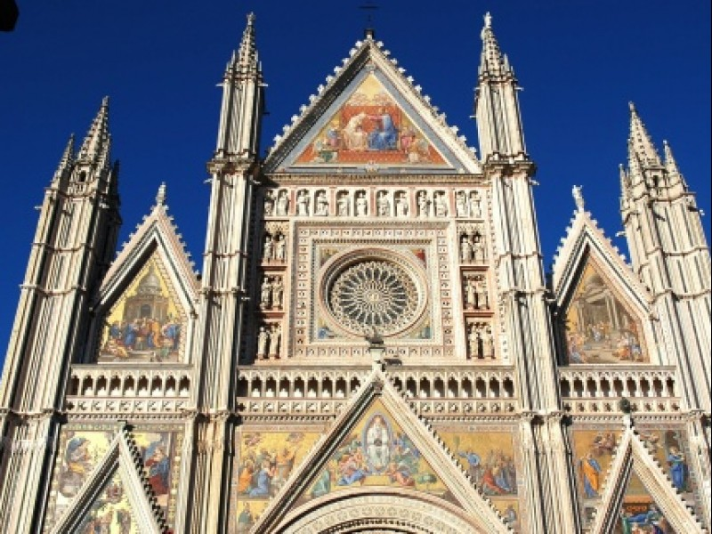 Orvieto's Cathedral and The Chapel of Saint Brizio