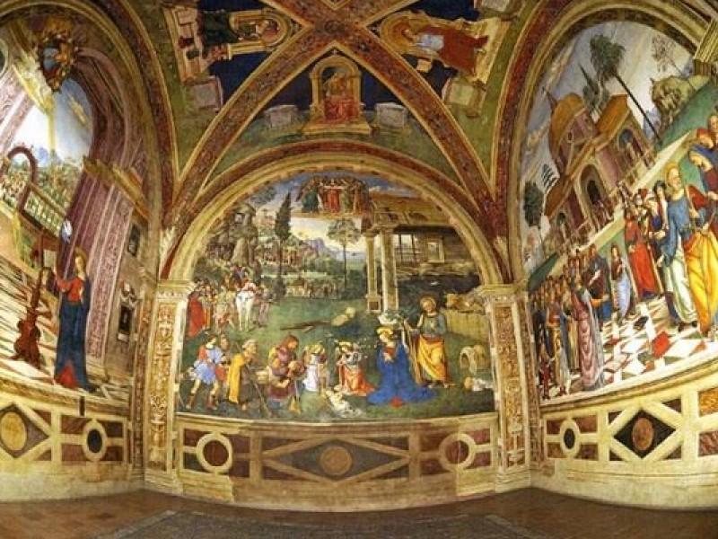 Cappella Baglioni a Spello a Santa Maria Maggiore