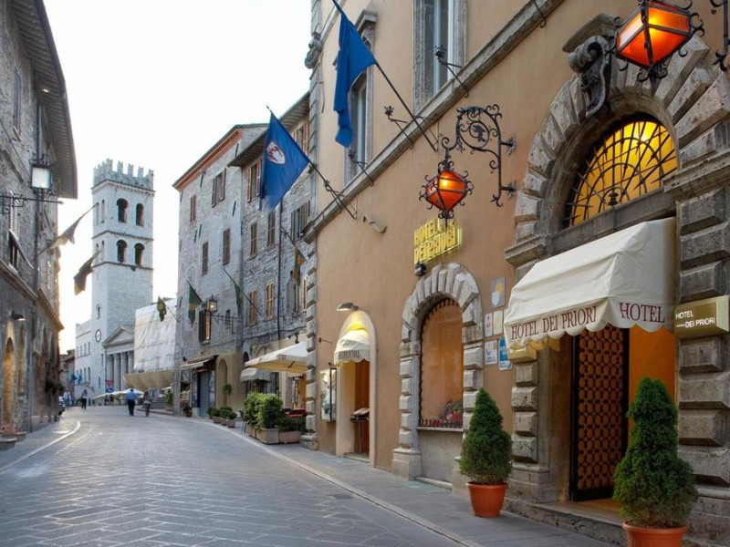 Where to sleep in Assisi. Hotels, Agritourisms and B&B