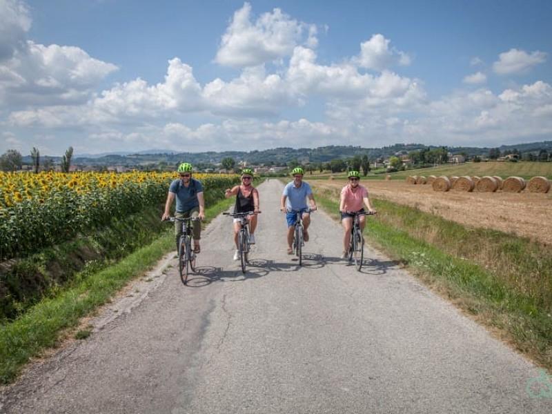 Umbria in bici. La vacanza in Umbria in bicicletta