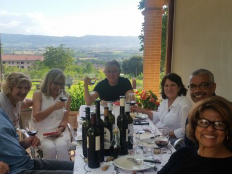Food, Wine and Extra Virgin Olive Oil Tasting in Umbria