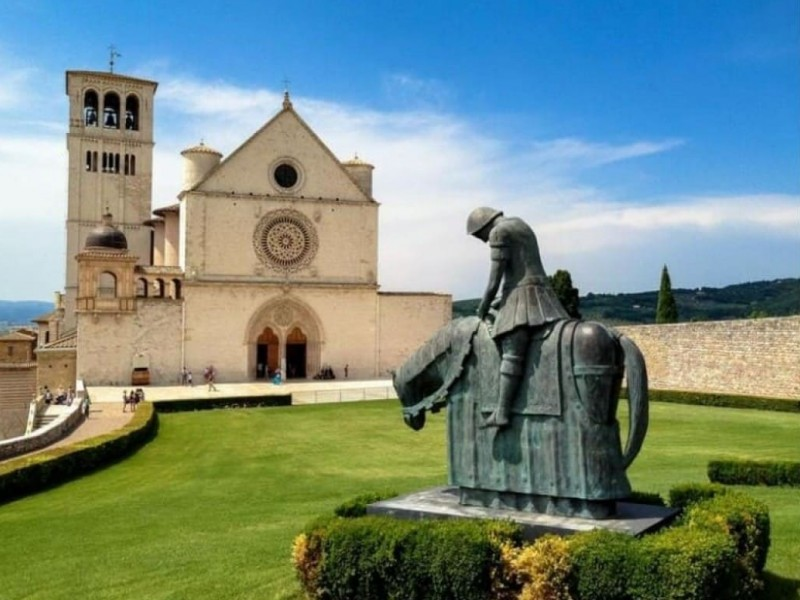 Tour of Assisi and Basilica of St. Francis visit