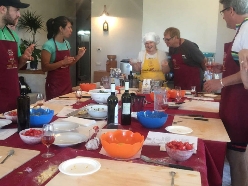 Hands-On Cooking Class at a Winery in Umbria near Assisi