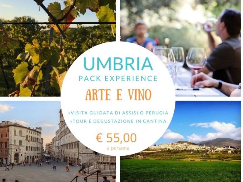 Arte e vino in Umbria - Visita guidata e degustazione