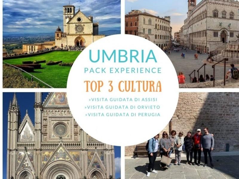 Assisi - Perugia e Orvieto. Le perle dell'Umbria. Pack top 3 Cultura