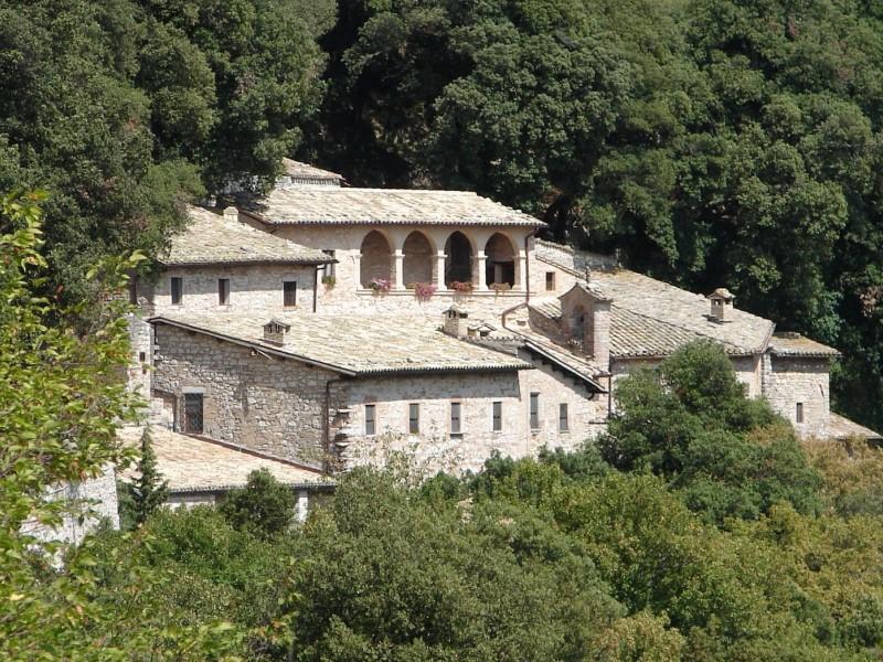 Trekking dell'Eremo delle carceri ad Assisi.
