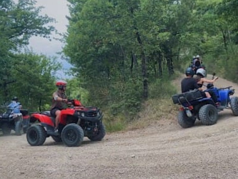 Escursione in quad in Umbria. Emozione su 4 ruote