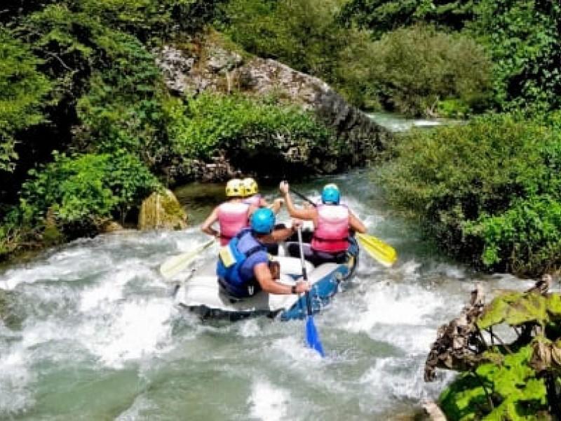 Rafting in Umbria. Adulti, bambini e famiglie, il rafting per tutti