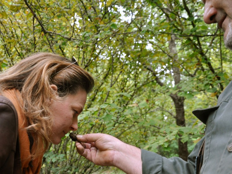 Special day with locals: truffle hunt & cooking class in a farm