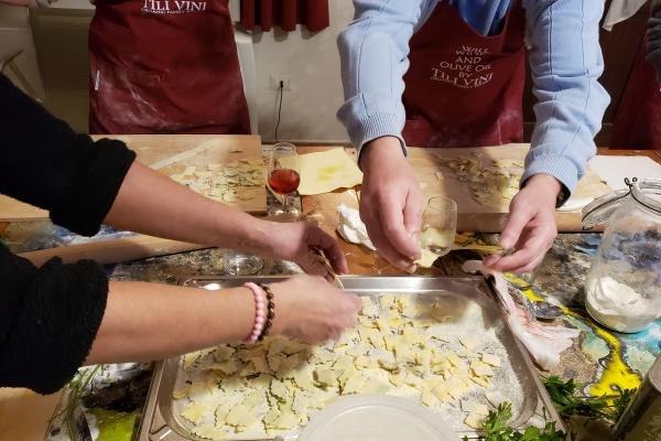 Pasta making umbria