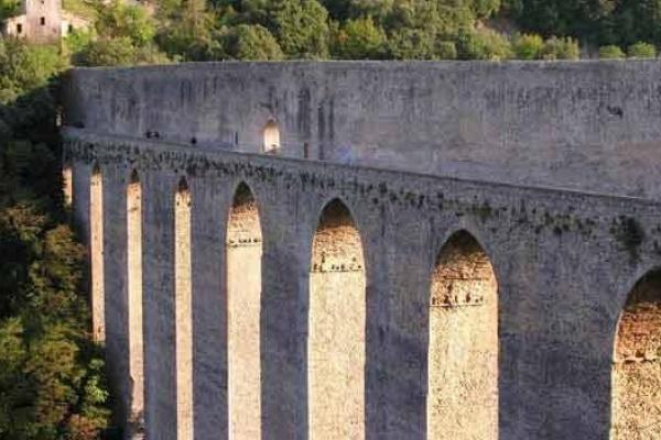 Spoleto tower bridge